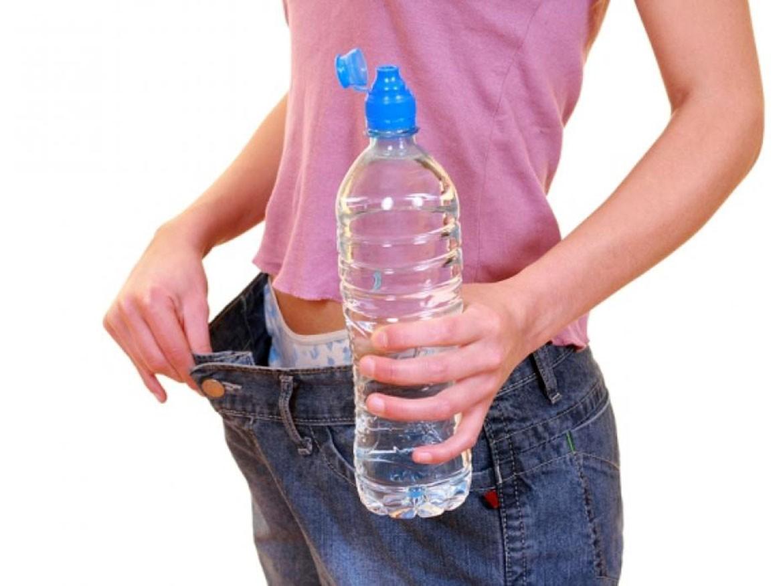 Вода помогла похудеть