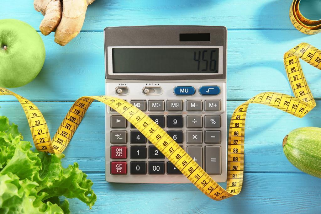 Подсчет калорий скорость похудения